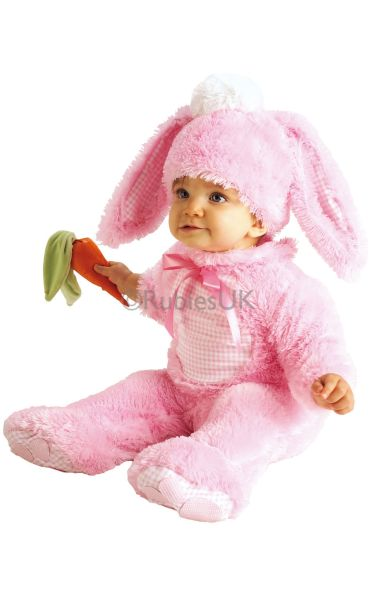 Precious Pink Wabbit Fancy Dress Costume