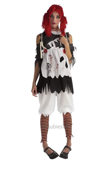 Rag Doll Girl Fancy Dress Costume