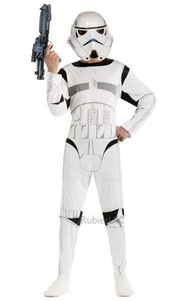 Classic Stormtrooper Fancy Dress Costume