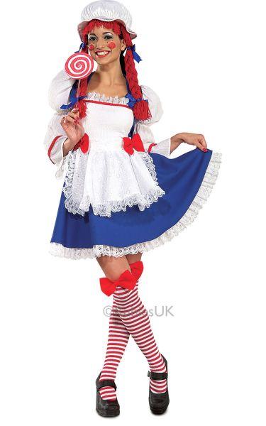 Rag Doll Fancy Dress Costume