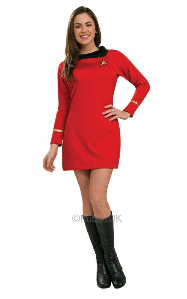 Deluxe Classic Red Star Trek Dress