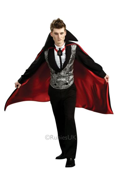 Nightfall Vampire Fancy Dress Costume