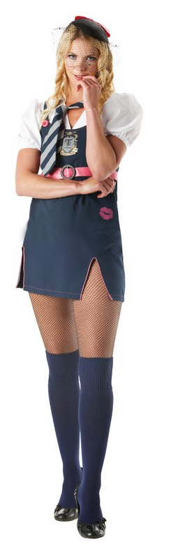 St Trinians Posh Totty Fancy Dress Costume