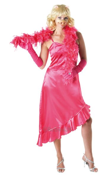 Miss Piggy Fancy Dress Costume