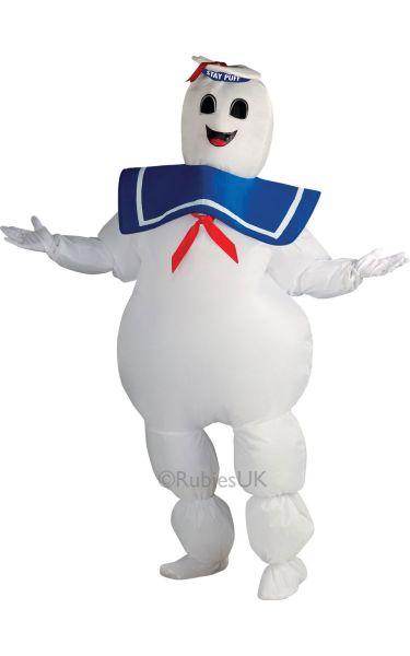 Stay Puff Ghostbusters Fancy Dress Costume