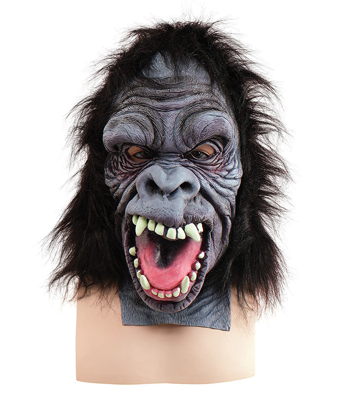 Gorilla Mask Overhead