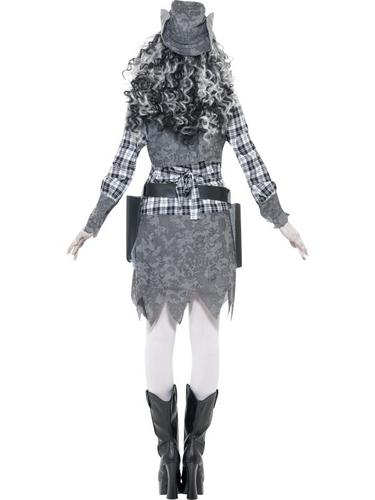 Ghost Town Cowgirl Costume Thumbnail 2