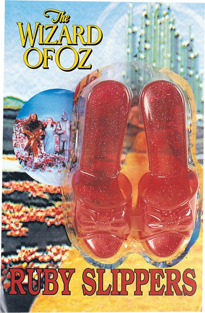 Kids Wizard Of Oz Dorothy Shoes Book Week Fancy Dress Costume Party Accessory Thumbnail 1