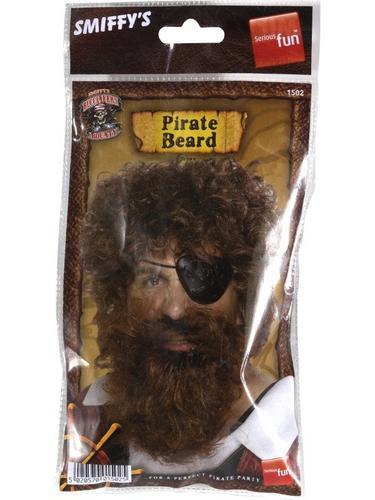 Pirate Beard Brown Thumbnail 2