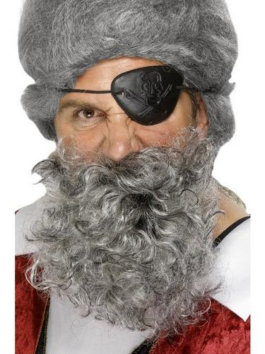 Pirate Beard Grey Thumbnail 1