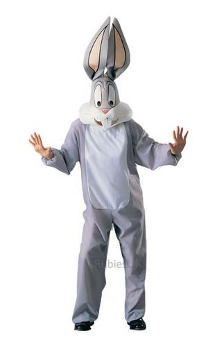 Adult Bugs Bunny Fancy Dress Costume Thumbnail 1