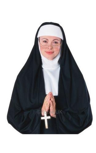 Nun Fancy Dress Costume Thumbnail 1
