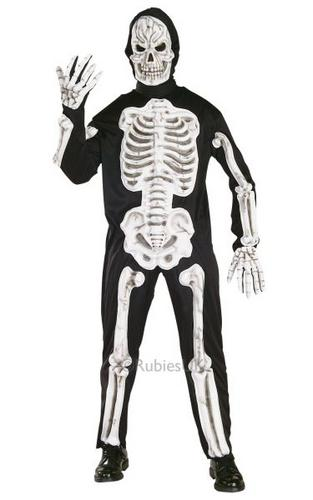 Eva Skeleton Fancy Dress Costume Thumbnail 1