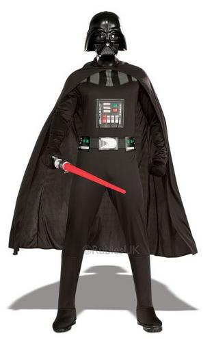 Adult Darth Vader Fancy Dress Costume Thumbnail 1