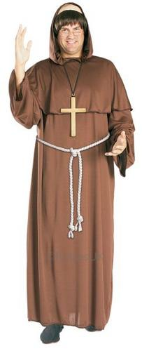 Friar Tuck Fancy Dress Costume Thumbnail 1