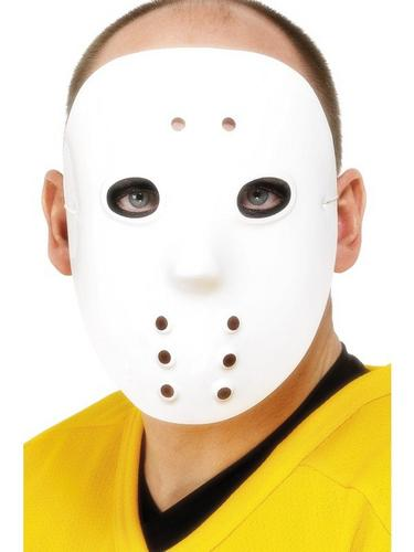 Hockey Fancy Dress Mask Thumbnail 1