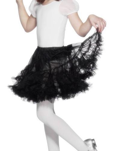 Petticoat Childrens in Black Thumbnail 1