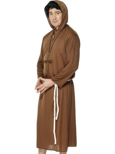 Monk Fancy Dress Costume Thumbnail 1