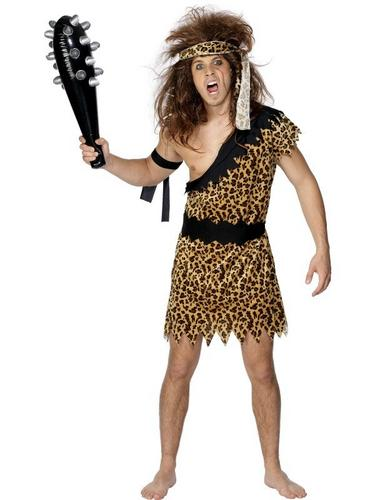 Caveman Fancy Dress Costume Thumbnail 1