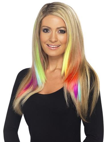 Hair Extensions Neon Orange Thumbnail 2