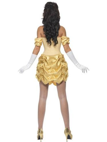 Golden Princess Fancy Dress Costume Thumbnail 3