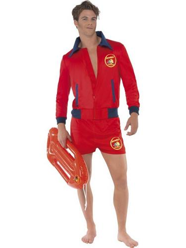 Gents Baywatch Fancy Dress Costume Thumbnail 1