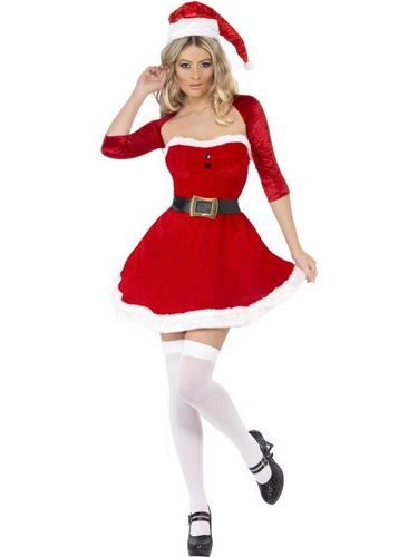 Santa Babe Fancy Dress Costume Thumbnail 2