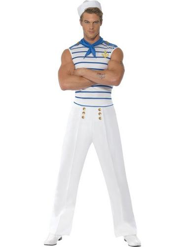 French Sailor Fancy Dress Costume Thumbnail 1