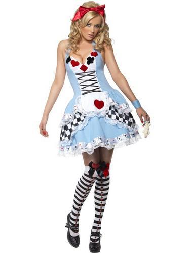 Miss Wonderland Fancy Dress Costume Thumbnail 2