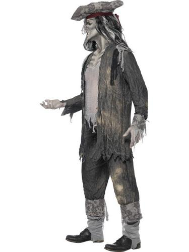 Ghost Ship Ghoul Fancy Dress Costume Thumbnail 3