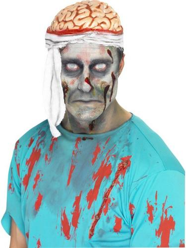 Bandage Brain Fancy Dress Hat Thumbnail 1