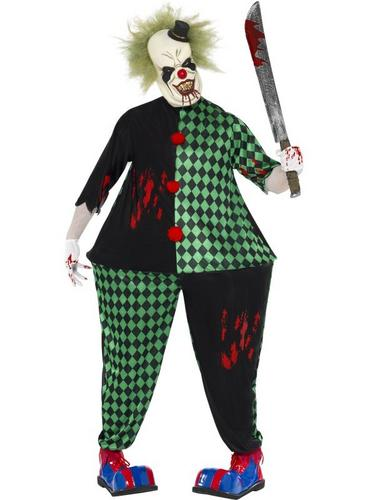 Fat Clown Fancy Dress Costume Thumbnail 1