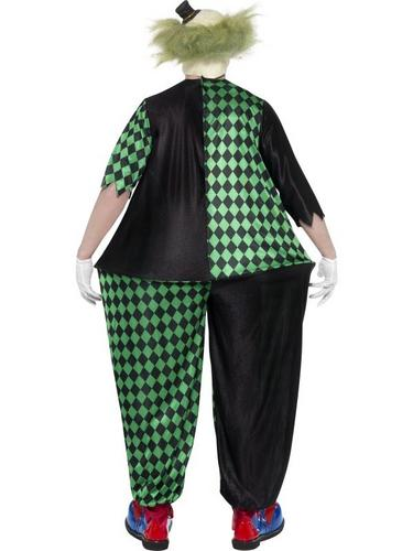Fat Clown Fancy Dress Costume Thumbnail 2
