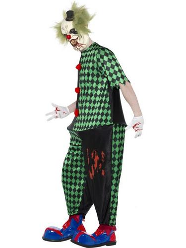 Fat Clown Fancy Dress Costume Thumbnail 3