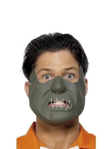Cannibal Fancy Dress Mask Thumbnail 2