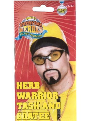 Herb Warrior Tash and Goatee Thumbnail 2