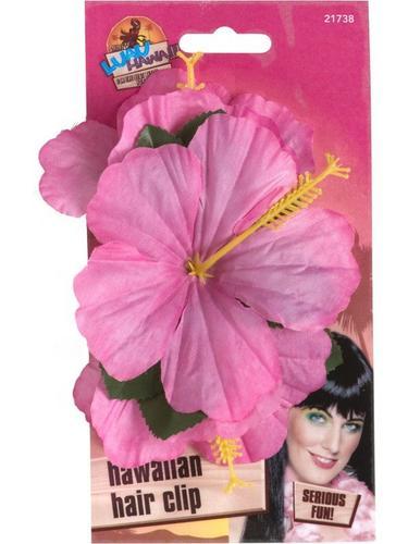 Hawaiian Flower Clip Pink Thumbnail 2