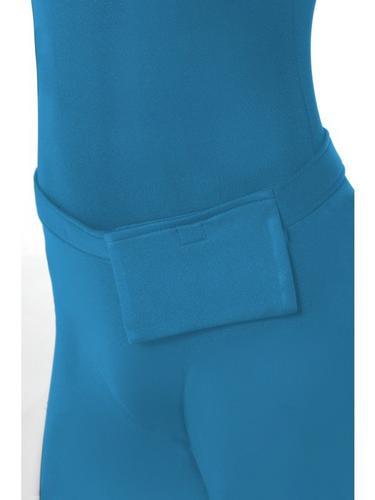 Blue Second Skin Suit Fancy Dress Costume Thumbnail 3