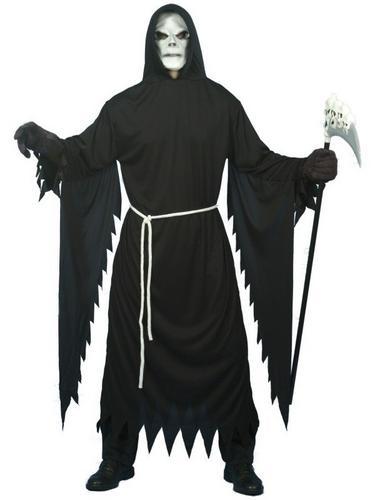 Grim Reaper Fancy Dress Costume Thumbnail 1