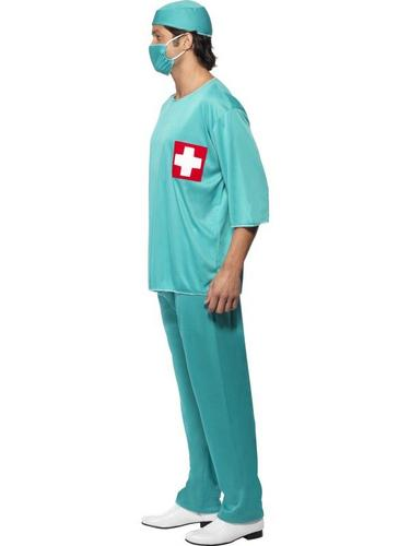 Surgeon Fancy Dress Costume Thumbnail 3