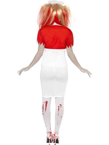 Blood Drip Nurse Fancy Dress Costume Thumbnail 2