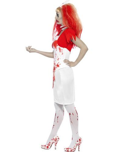 Blood Drip Nurse Fancy Dress Costume Thumbnail 3