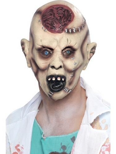 Autopsy Zombie Fancy Dress Mask Thumbnail 1