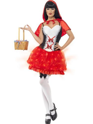 Light Up Red Riding Hood Costume Thumbnail 1