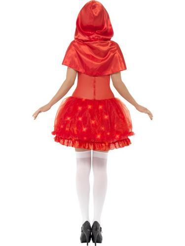 Light Up Red Riding Hood Costume Thumbnail 3