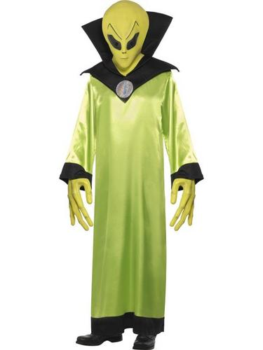 Alien Lord Fancy Dress Costume Thumbnail 1