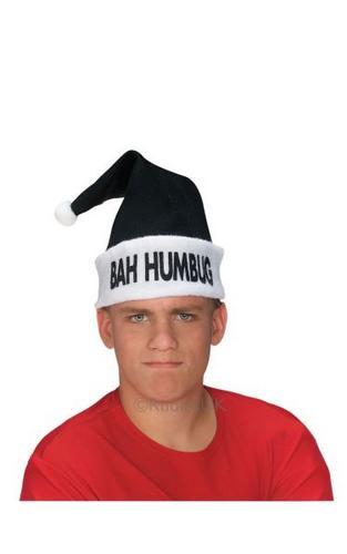 Bah Humbug Grouch Fancy Dress Hat Thumbnail 1
