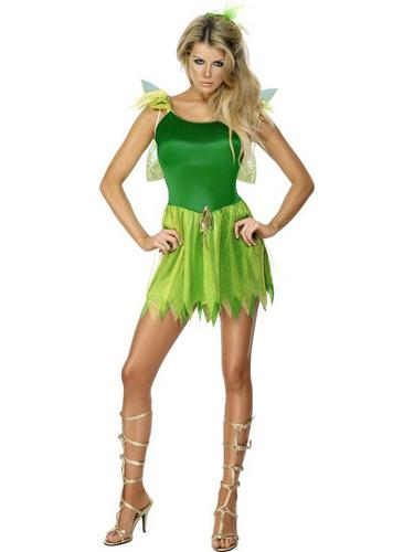 Woodland Fairy Fancy Dress Costume Thumbnail 1