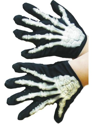 Childs Skeleton Gloves Thumbnail 1