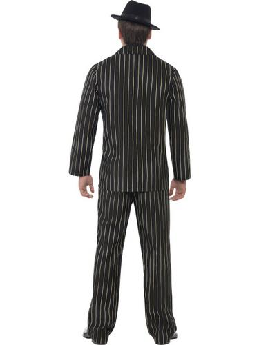Gold Pinstripe Gangster Costume Thumbnail 2